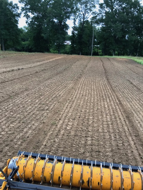 One pass till and seed prepares a perfect plot in Alabama